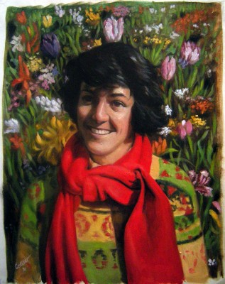Carole Anne in the Flowers (9010)